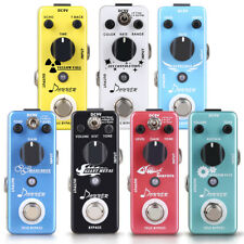 Donner Electric Guitar effect pedals Delay Overdrive Fuzz Digital Reverb Pedal