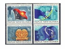 Papua New Guinea 1971-2 CONSTITUTION/SPC(4) Unhinged Mint SG212-5