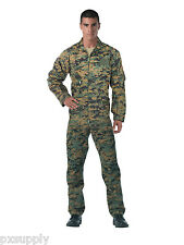 rothco flightsuit woodland digital camo air force style suit 2910