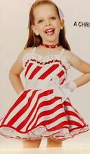 Christmas Dance Costume candy stripe pageant  baby doll dress A Christmas Gift