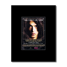 KISS - Paul Stanley - Live To Win Matted Mini Poster