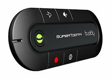 SuperTooth Buddy Bluetooth Visor Speakerphone Car kit-Black