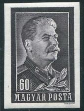 HUNGARY Sc.# 1034 Stalin Imperf Stamp