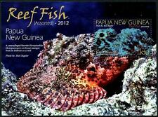 PAPUA NEW GUINEA Sc.# 1609 Reef Fish Stamp S/S