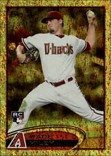 2012 Topps Gold Sparkle #558 Wade Miley