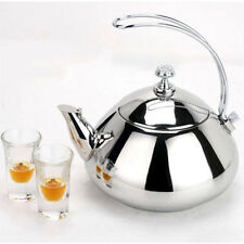 Stainless Steel Teapot Kettle Stainless Steel Kitchenware Café Restaurant 7824