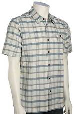 Quiksilver Waterman Idle Time SS Button Down Shirt - Pristine - New