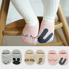 Boys Girls Baby Newborn Infant Floor Sock Kids Rabbit Bear Cotton Socks