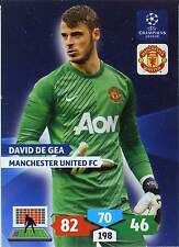 PANINI CHAMPIONS LEAGUE 2013-2014 - MANCHESTER UNITED - BASE CARDS selection