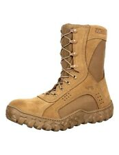 Rocky Tactical Boots Mens S2V Steel Toe Flight Berry Brown RKC053