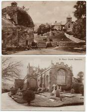 2 Early BEAUMARIS Church and Penmon Church  Anglesey   Postcards
