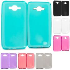 For Samsung Galaxy J7 TPU Rubber Silicone Skin Case Cover Clear
