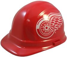 NHL Detroit Red Wings Hard Hat with Ratchet Suspension - Hockey Team Hardhat