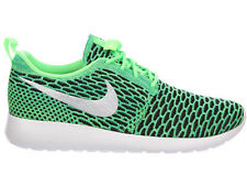 NEW WOMENS NIKE ROSHE ONE RUNNING SHOES TRAINERS VOLTAGE GREEN / WHITE / GREEN