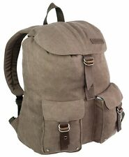 22l HEAVY DUTY CANVAS DAYSACK BACKPACK is army military bag in cotton NEWHAVEN