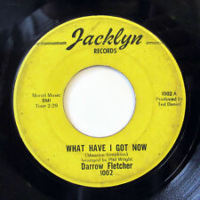 DARROW FLETCHER-WHAT HAVE I GOT NOW /SITTING THERE THAT NIGHT ON JACKLYN NORTHER