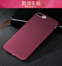 For iphone 7/7 Plus Elegant Soft 360° Protection Silicone TPU Matte Case Cover
