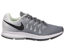 NEW WOMENS NIKE AIR ZOOM PEGASUS 33 RUNNING SHOES TRAINERS DARK GREY / WHITE