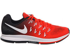 NEW MENS NIKE AIR ZOOM PEGASUS 33 RUNNING SHOES TRAINERS TEAM ORANGE / WHITE