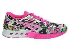 NEW WOMENS ASICS GEL FUZEX RUNNING SHOES TRAINERS WHITE / PINK GLOW / SOOTHING