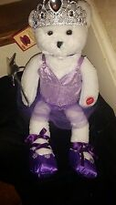 Ballerina Teddy Bear Chantilly Lane Musical Teddy Bear NWT