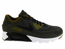 NEW MENS NIKE AIR MAX 90 ULTRA RUNNING SHOES TRAINERS CARGO KHAKI / BLACK / OLIV