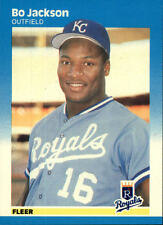 1987 Fleer #369 Bo Jackson RC - Kansas City Royals