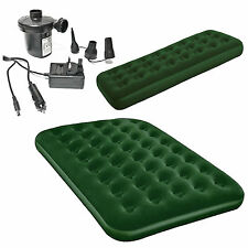 Choose Single or Double Green AirBed Bed Mattress with Electric AirPump Pump Air