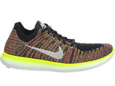 NEW MENS NIKE FREE RN FLYKNIT RUNNING SHOES TRAINERS MULTI COLOR