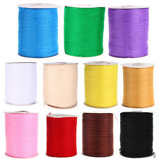 "1/4"" 6mm 500 Yards Chiffon Ribbon Wedding Party Gift Wrap Craft Making"