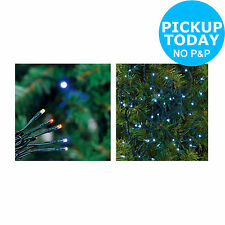 80 Multi-Function LED Christmas Tree Lights- Choice of Colour-From Argos on ebay