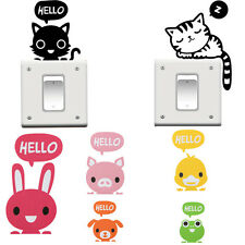 2x Removable Switch Sticker Vinyl Art Mural Decal Home Wall Window DIY Decors HU