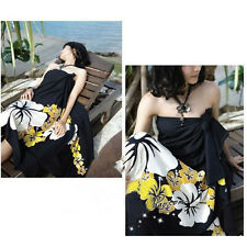 Women Sexy Swimsuit Coverup Sarong Pareo Beach Cover Up Scarf Swimwear Dress JG