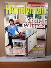 The Family Handyman Magazine October 2000 Kitchen cabinets