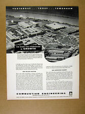 1955 Combustion Engineering Chattanooga Plant New Facilities vintage print Ad