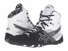 ASICS CAEL V7.0 MENS WRESTLING SHOES BLACK ONYX WHITE  **FREE POST AUSTRALIA