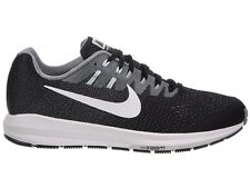 NEW MENS NIKE AIR ZOOM STRUCTURE 20 RUNNING SHOES TRAINERS BLACK / COOL GREY