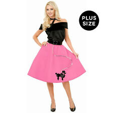 Pink Poodle Skirt Halloween Costume - Adult Size