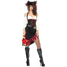 Pirate Wench Costume Adult Halloween Fancy Dress