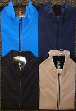 NEW MENS ADIDAS GOLF S/S CLIMAPROOF WIND HALF-ZIP SHIRT, PICK COLOR & SIZE, $90