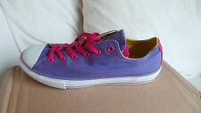 NEW in box Converse Womens Converse CT Double Tongue OX Pumps Purple Size 5/38
