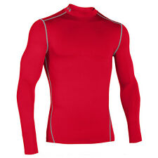 UNDER ARMOUR COLD GEAR COMPRESSION MOCK MEN'S SHIRT LONG SLEEVE 1265648-600
