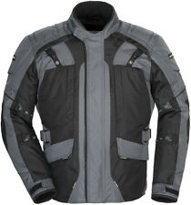 Tourmaster Transition 4 Motorcycle Jacket Gun Metal Free Size Exchanges