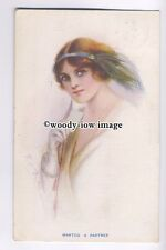 su2414 - Young Woman - Wanted A Partner - artist G O Bailey - postcard