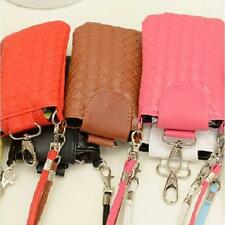 Chic Women Lady Universal Mobile Cell Phone Pouch Pocket Bag With Shoulder Strap