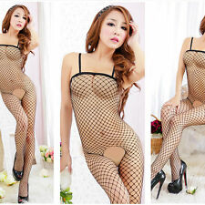 Women Sexy  Lingerie Fishnet Sleepwear Nightwear Babydoll Dress G-strings