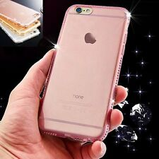 New Ultra Thin Diamond Crystal Clear Glossy Case Cover Skin for iPhone 6 6s Plus