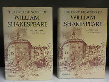 The Complete Works Of William Shakespeare - 2 Books Collection! (ID:40166)