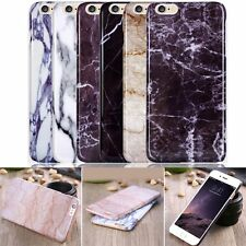 Luxury Thin Printed Marble Pattern Back Case Cover For iPhone 6 4.7''/6s Plus 5s