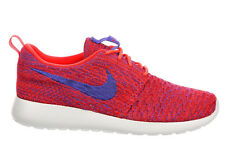 NEW WOMENS NIKE ROSHE ONE RUNNING SHOES TRAINERS BRIGHT CRIMSON / PERSIAN VIOLET